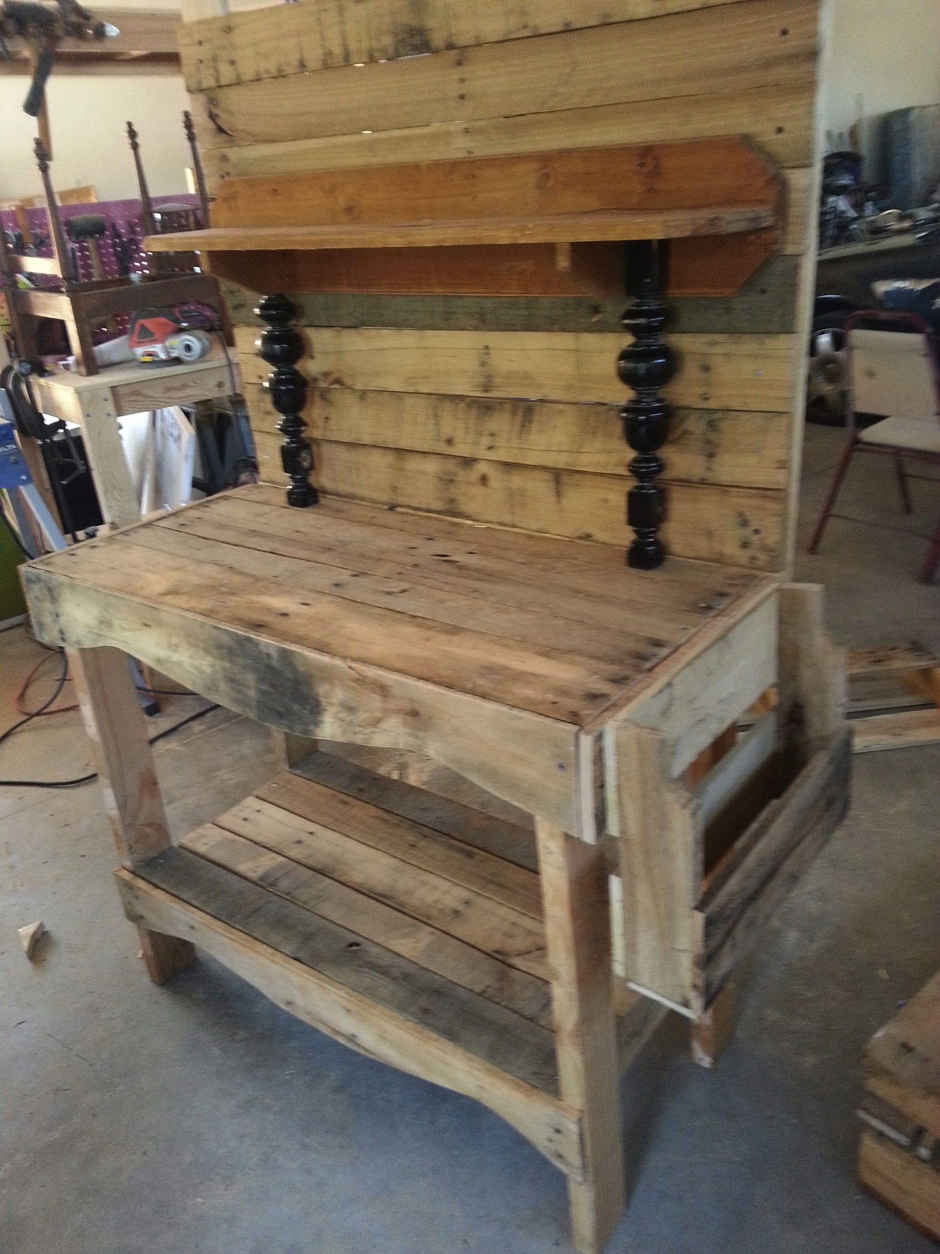 Plans Pallet Potting Bench Free Download woodworking plans ...