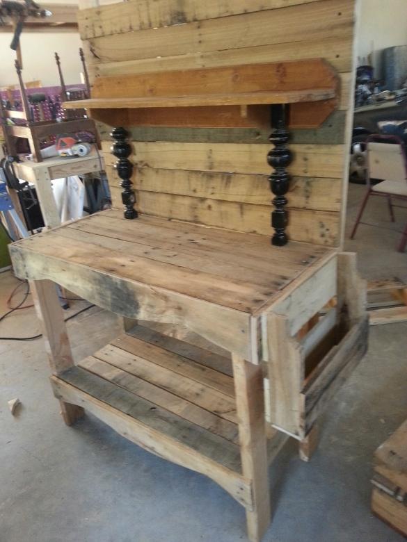 Plans Pallet Potting Bench Plans Free Download Complete71lfk
